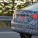 Chevrolet Beat Essentia sedan spied rear end testing