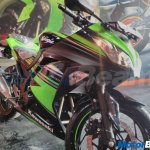Kawasaki Ninja 300 KRT Edition front three quarters