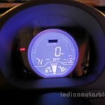 Mahindra e-Supro EV instrument cluster launched