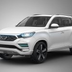 SsangYong LIV-2 concept front three quarters