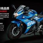 Suzuki GSX-250R in MotoGP livery