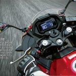 Suzuki GSX-250R riding image