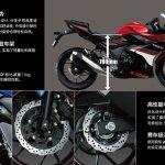 Suzuki GSX-250R technical details