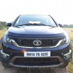 Tata Hexa XT MT front Review