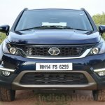 Tata Hexa XT MT front fascia Review