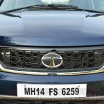 Tata Hexa XT MT grille Review