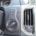 Tata Hexa XT MT headlight controls Review