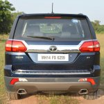 Tata Hexa XT MT rear Review