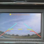 Tata Hexa XT MT rear camera Review