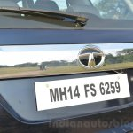 Tata Hexa XT MT rear garnish Review