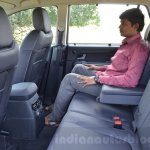 Tata Hexa XT MT rear legroom Review