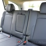 Tata Hexa XT MT seat upholstery Review