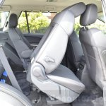 Tata Hexa XTA AT rear seat fold Review
