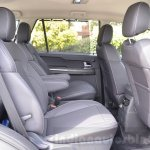 Tata Hexa XTA AT rear seats Review