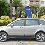 Tata Hexa XTA AT side Review