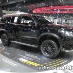 2016 Chevrolet Trailblazer Black Dress Up front three quarter right at the Thai Motor Expo Live
