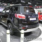2016 Chevrolet Trailblazer Black Dress Up rear quarter at the Thai Motor Expo Live