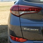 2016 Hyundai Tucson badge Review