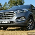 2016 Hyundai Tucson front low Review