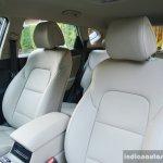 2016 Hyundai Tucson front seat Review