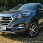 2016 Hyundai Tucson front three quarter diesel Review