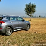 2016 Hyundai Tucson rear quarter far Review
