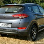 2016 Hyundai Tucson rear quarter petrol Review