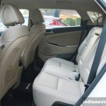 2016 Hyundai Tucson rear seat Review
