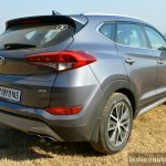 2016 Hyundai Tucson rear three quarter Review