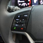 2016 Hyundai Tucson steering buttons Review