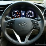 2016 Hyundai Tucson steering wheel Review