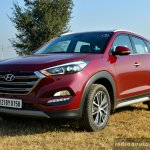 2016 Hyundai Tucson wine red Review