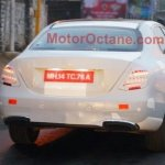 2016 Mercedes E Class (W213) rear spied in India