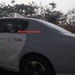 2016 Mercedes E Class (W213) side spied in India