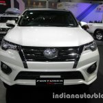 2016 Toyota Fortuner TRD Sportivo front at the 2016 Thai Motor Expo