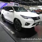 2016 Toyota Fortuner TRD Sportivo front three quarter at the 2016 Thai Motor Expo