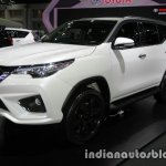 2016 Toyota Fortuner TRD Sportivo front quarter at the 2016 Thai Motor Expo