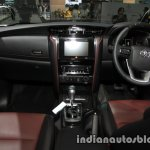 2016 Toyota Fortuner TRD Sportivo interior at the 2016 Thai Motor Expo