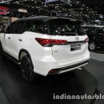 2016 Toyota Fortuner TRD Sportivo rear quarter at the 2016 Thai Motor Expo