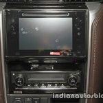 2016 Toyota Fortuner center console launch