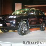 2016 Toyota Fortuner front three quarter launch live