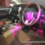 2016 Toyota Fortuner interior launch