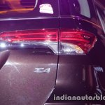 2016 Toyota Fortuner taillamp launch live