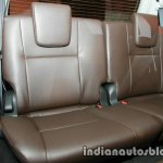 2016 Toyota Fortuner third row seat launch