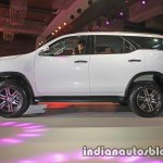 2016 Toyota Fortuner white side launch