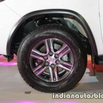 2016 Toyota Fortuner white wheel launch