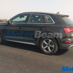 2017 Audi Q5 rear three quarter spied undisguised in India