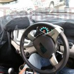 2017 Chevrolet Beat interior snapped
