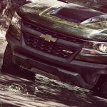 2017 Chevrolet Colorado ZR2 front fascia