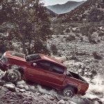2017 Chevrolet Colorado ZR2 left side off-roading